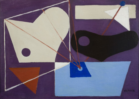 Figure 10: Purple Abstraction c. 1939