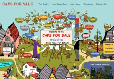 Caps for Sale Home Page